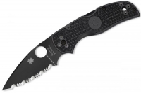 Нож складной Native 5 Lightweight FRN Handle, Black SpyderEdge