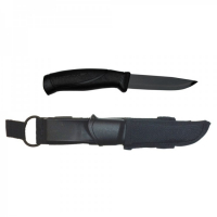 Нож Morakniv Companion Tactical  BlackBlade, черный клинок