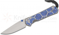 Нож складной Chris Reeve Large Sebenza 21 Blue Hex CGG Folding Knife