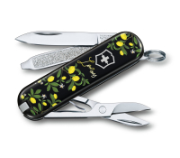 Нож перочинный Victorinox Classic When Life Gives You Lemons 0.6223.L1905 58 мм, 7 функций